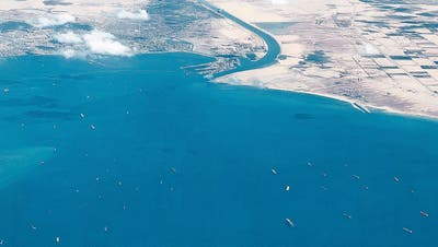 Suez-Blockade: Wird jetzt das WC-Papier knapp?