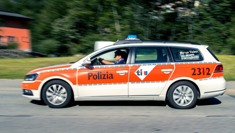 Die Tessiner Polizei fand in Bellinzona zwei tote Personen. (Keystone)