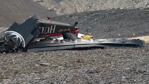 Trotz Erfahrung das Risiko unterschätzt: Beim Absturz der JU-52 am 4. August 2018 am Piz Segnas starben 20 Menschen. (Kantonspolizie Graubünden)