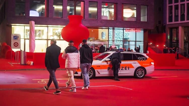 Am Samstagabend war die Lage ruhig in St.Gallen. (Bild: Michel Canonica (27. März 2021))
