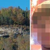 In einer Höhle am Bruggerberg wurde im April 2020 die Leiche des 24-jährigen D.D. aus dem Kanton Zürich gefunden. (Bildquellen: AZ Archiv, zVg)