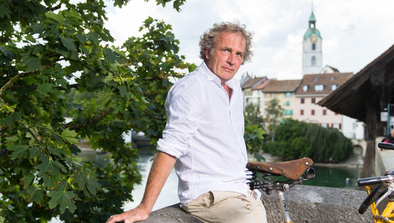 Alex Capus erhält den Oltner Kulturpreis für sein Schaffen als Schriftsteller und Kulturvermittler. (Claudio Thoma)