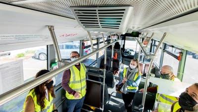 So sieht das aktive Desinfektionssystem im Bus aus. (Bild: Nicole Nars-Zimmer)