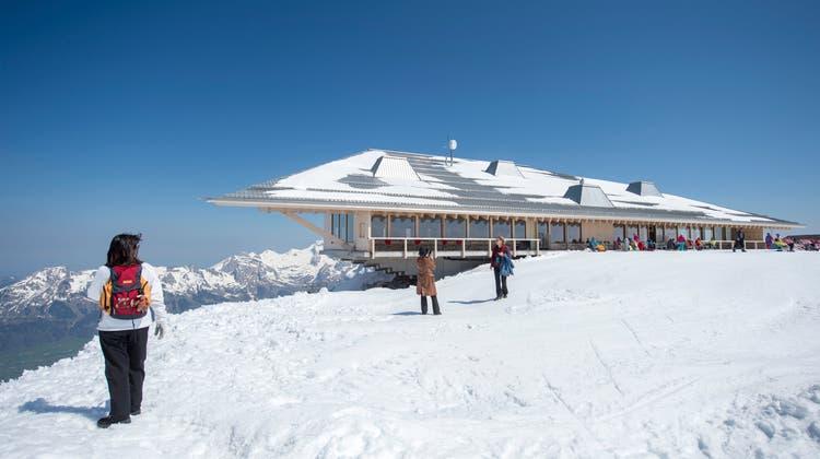 Gipfelrestaurant auf dem Chäserrugg. (Bild: Urs Bucher)