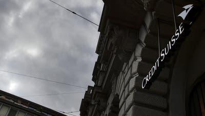 Ein Gewittersturm bringt die Credit Suisse in Nöte. (Fabrice Coffrini / AFP)