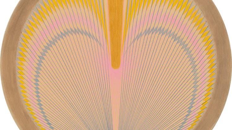 Mit Pendel und Farbstift auf Papier. © Emma Kunz Stiftung (Foto: Conradin Frei)