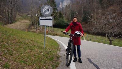 Mit 30 statt mit 80 über den Balmberg. Das ist die Forderung von Iris Marti aus Günsberg. (Urs Byland)