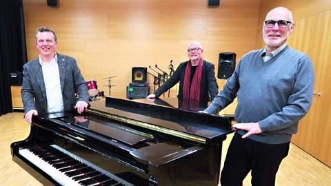 Hugo Fehr ist neuer Musikschulpräsident: Nach elf Jahren tritt Marcel Sieber als Präsident von «Musik im Zentrum – Musikschule Mittelrheintal» zurück
