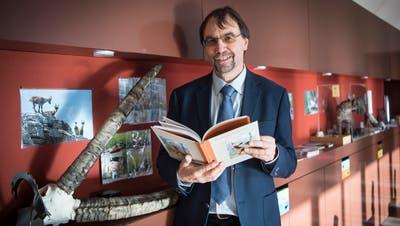Toni Bürgin ist der Direktor des Naturmuseums St.Gallen. (Ralph Ribi)