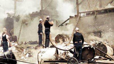 Farbbilder des Schreckens: Die letzten Bomben des Zweiten Weltkriegs auf Basel