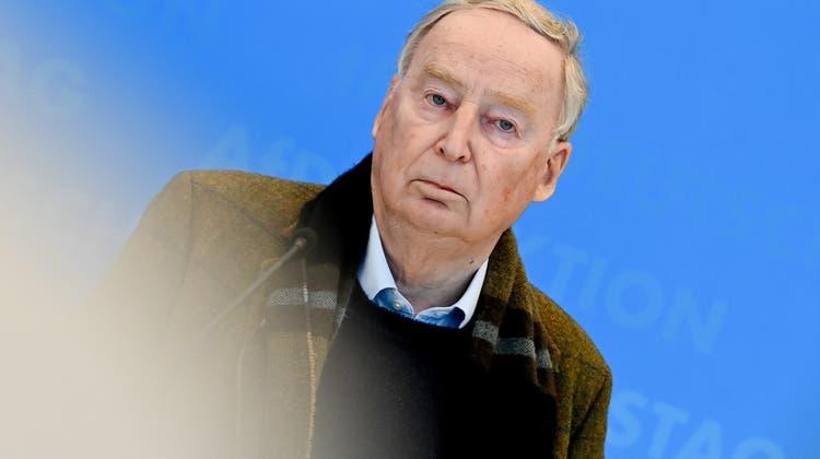 Alexander Gauland, Fraktionsvorsitzender der AfD im Bundestag. (Filip Singer / EPA)