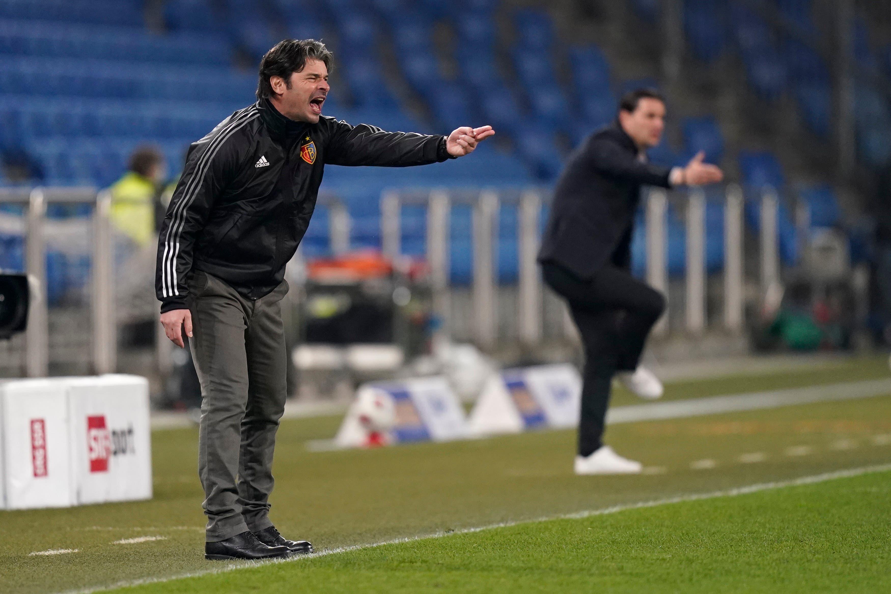 Beide Trainer sehen ein vor allem in der ersten Halbzeit intensives Spiel.