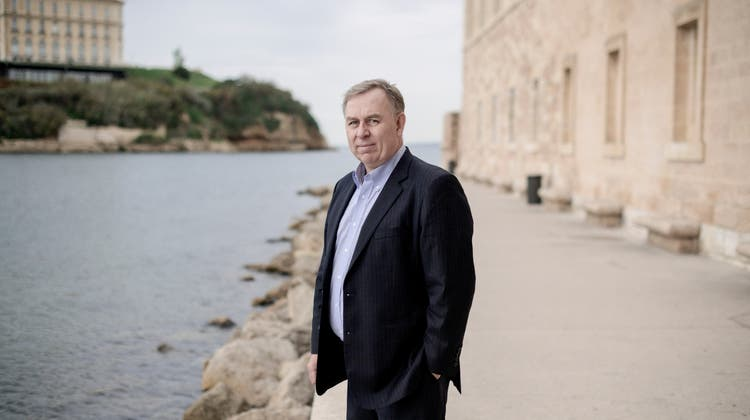 Robert Tibbo, ein kanadischer Menschenrechtsanwalt, in seinem zeitweiligen Exil in Marseille. (Benjamin Bechet/Nyt(23. November 2018))