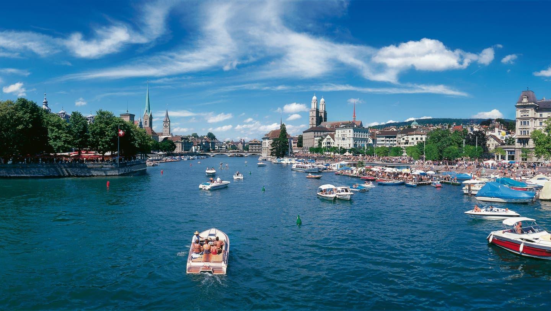Die Stabilität und Verlässlichkeit der Schweiz und des Wirtschaftsraums Zürich seien in Zeiten globaler Verwerfungen Gold wert, hält die Greater Zurich Area in einer Mitteilung fest.. (Archivbild: Christof Sonderegger)