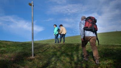 Wanderer, am Sonntag, 15. November 2020, bei Appenzell. © Benjamin Manser / TAGBLATT (Benjamin Manser)