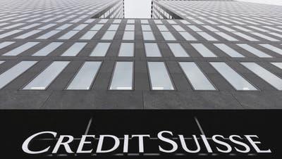 Wie hoch wird der Abschreiber für die Schweizer Grossbank ausfallen? Die Fassade des Credit Suisse-Gebäudes in Oerlikon. (Gaetan Bally / KEYSTONE)