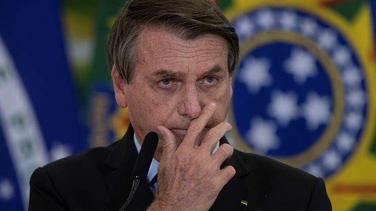 Der brasilianische Präsident Jair Bolsonaro. (Keystone)