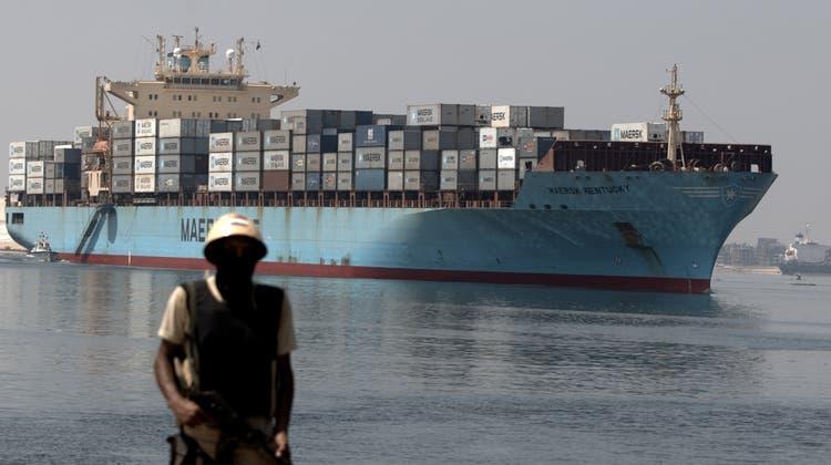Der Suez-Kanal ist ein Nadelöhr des Welthandels - und gleichzeitig dessen Achillesferse. Die Gefahr von Anschlägen auf die Schiffe steigt. (Getty)