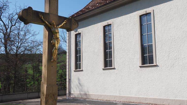 Der Kirchenplatz in Wölflinswil soll neu gestaltet werden. (hcw (30. März 2021))
