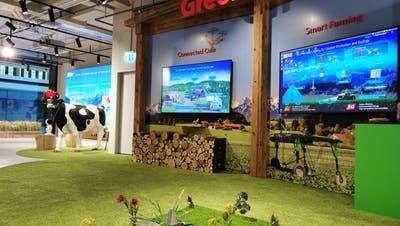 «Smart Farming»: Auch in der Schweiz ist die Zukunft der Landwirtschaft digital und vernetzt. (zvg)