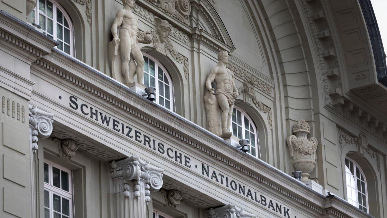 Am Tropf der Nationalbank: Ohne die Millionen von der Nationalbank wären die Kantonsrechnungen tief rot. (Keystone)