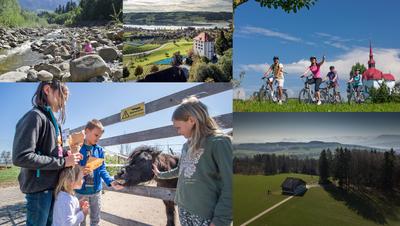 Schöne Aussichten: Das Museum von Schloss Heidegg ist ab Donnerstag geöffnet. (Bild: Pius Amrein  (Gelfingen, 17. Oktober 2019))