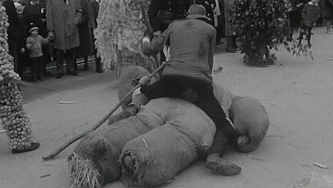 «Verzweifelt kämpft der Straumuni gegen seine Feinde»: ein Eierleset-Video aus dem Jahr 1964