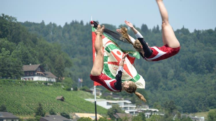 Das GLZ-Regionalturnfest 2015 fand in Weiningen statt. Rund 5000 Sportlerinnen und Sportler kämpften damals um Ruhm und Ehre. (Archivbild Jiri Reiner)