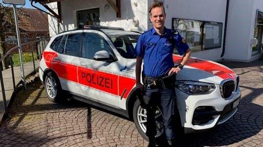 Von Dietikon nach Uitikon: Florian Stutz ist neuer Dienstchef der Uitiker Gemeindepolizei. (zvg)