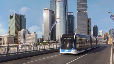 Solche Busse produziert Hess für Brisbane. (zvg)