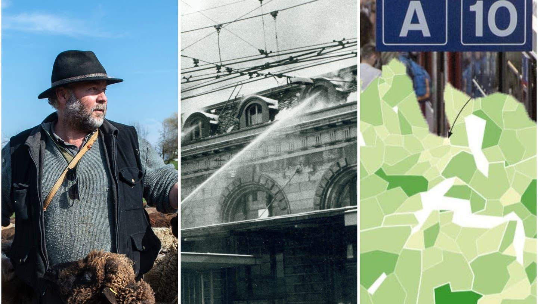 Wanderhirte, Bahnhofbrand oder Pendlerströme – Lesestücke für die Ostertage