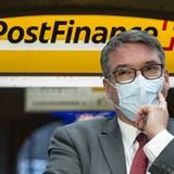 Die Postfinance ist zum Sorgenkind der Post geworden. (Christian Beutler / KEYSTONE)