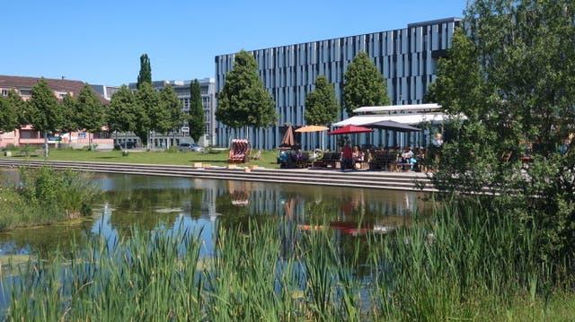 In untersuchten Praxisbeispiel-Gebiet Liebefeld im Kanton Bern profitieren die Menschen und die Natur vom nahen Oberflächen-Wasser. (Foto: Monika Schirmer)