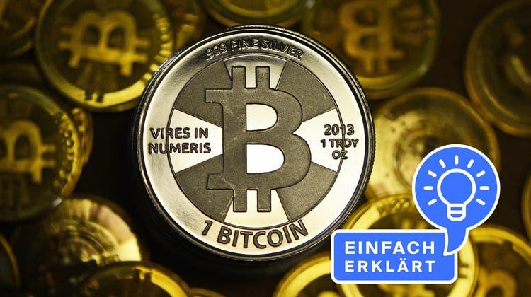 Wie funktioniert die digitale Währung Bitcoin? (Bild: Keystone)