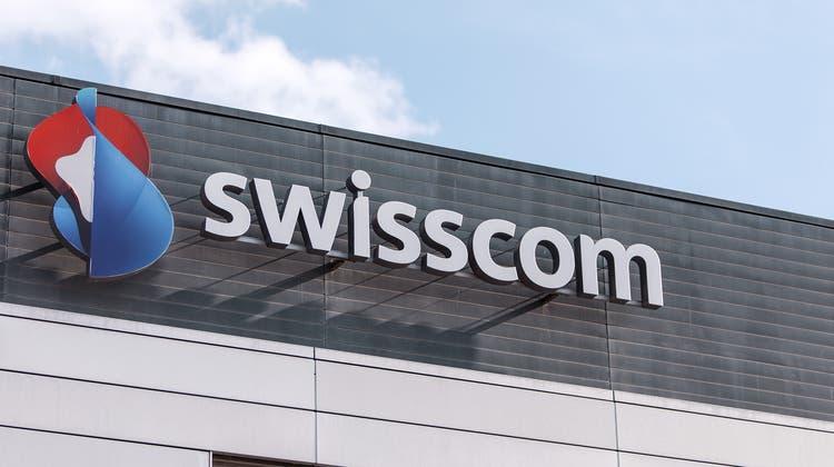 Das Mobilfunknetz der Swisscom war am Dienstag schweizweit gestört. (Keystone)