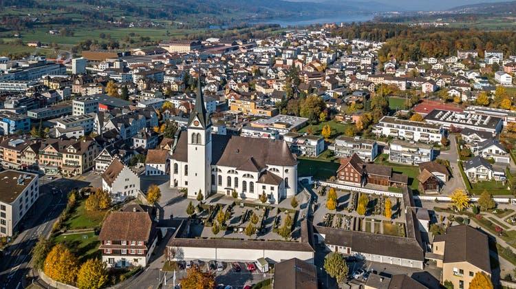 Das Grundwasser der Gemeinde Hochdorf ist mit Fungizidrückständen belastet, ebenso das Wasser des Baldeggersees, der im Hintergrund zu sehen ist. (Bild: Pius Amrein  (7. November 2018))