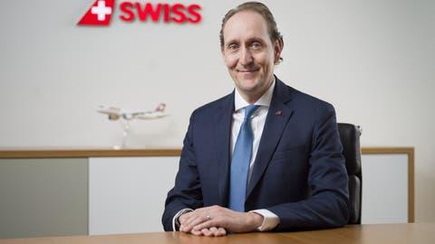Swiss-Chef Dieter Vranckx will, dass seine Airline agiler und schneller wird, um für die Zukunft gewappnet zu sein. (Gaetan Bally / KEYSTONE)