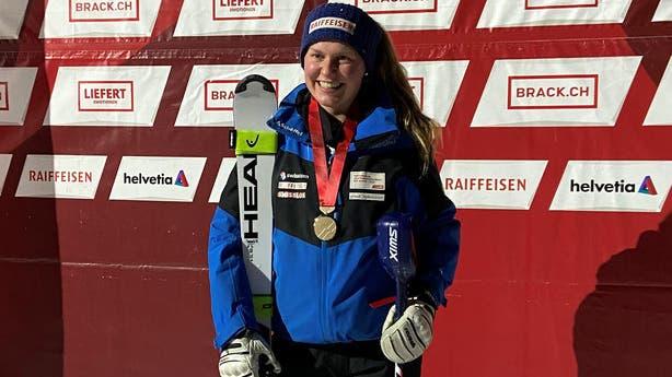 Sarah Zoller wurde Dritte wie Ende Januar an den Schweizer U21-Meisterschaften. (Bild: PD)