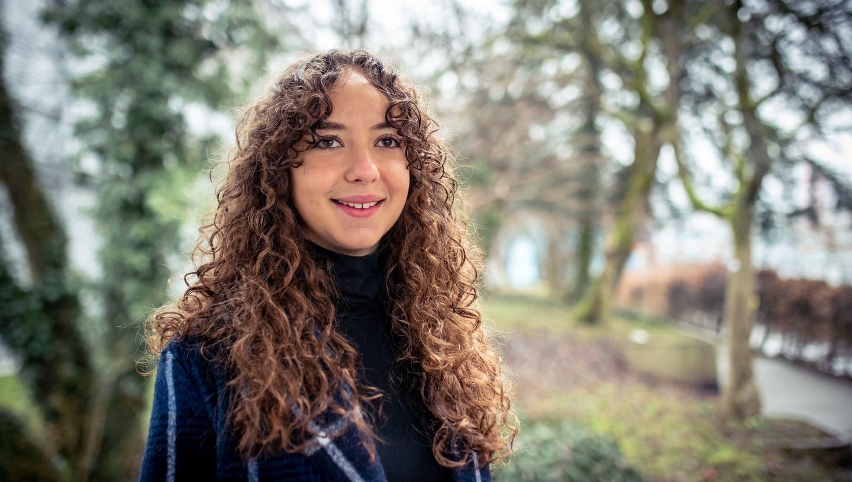 Die Arbeit der 18-jährigen Luzerner Maturandin Selma Zoronjic hat ihr den Maturapreis 2021 eingebracht. (Bild:Boris Bürgisser (Luzern, 7. Feb. 2021))