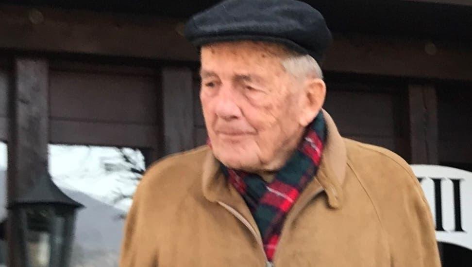Ein Oensinger Urgestein: Hans Sägesser Oensingen wurde vor wenigen Tagen 100 Jahre alt. (Zvg)