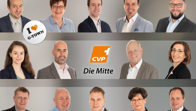 CVP nominiert 14 Kandidierende für Gemeinderat