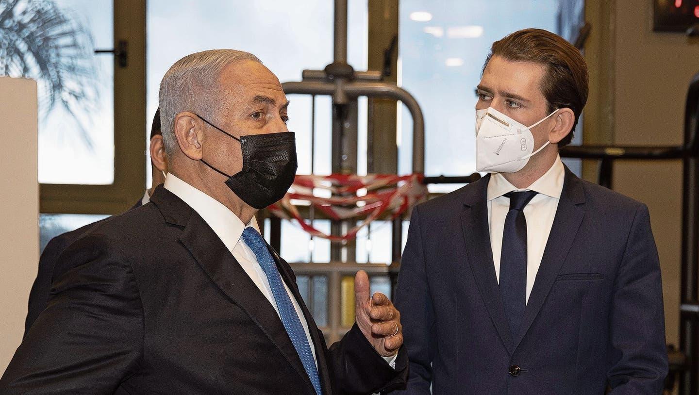 Österreichs Kanzler will Impfstoff-Allianz schmieden: Ein Kurz-Trip nach Israel
