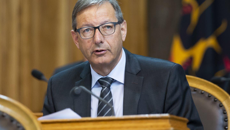 Josef Dittli befindet sich ohne Symptome in Selbstisolation, wie Ratspräsident Alex Kuprecht meldete. (Keystone)