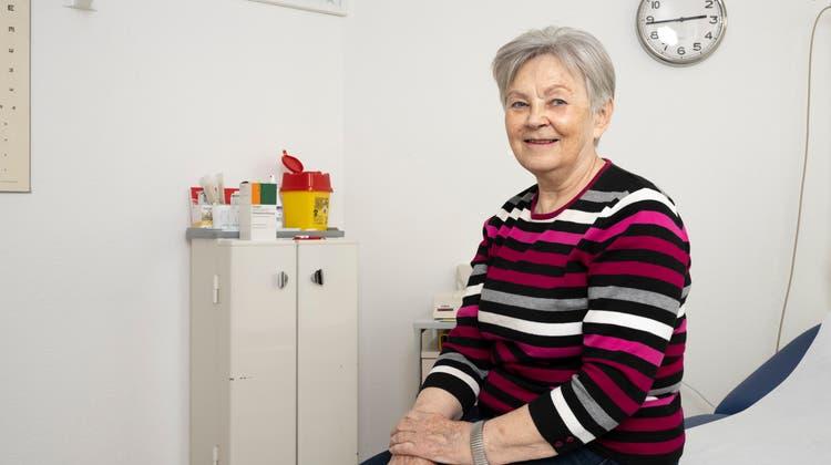 Die MeinArzt-Praxis in Wettingen schloss vor rund einem halben Jahr. Die Ärztin Magdolna Horvath (im Bild)  ist die vormalige Betreiberin der Praxis und Inhaberin der Räumlichkeiten. (Alex Spichale (4. März 2021))