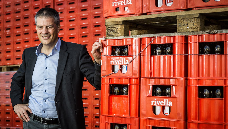 Erland Brügger, CEO des Getränkeherstellers Rivella AG in Rothrist. (Archivbild) (Chris Iseli)