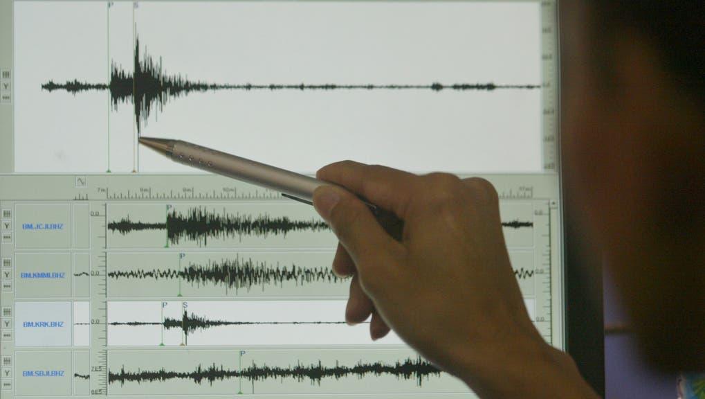 Das Erdbeben erreichte laut Experten eine Stärke von 7,2. (Symbolbild) (Keystone)