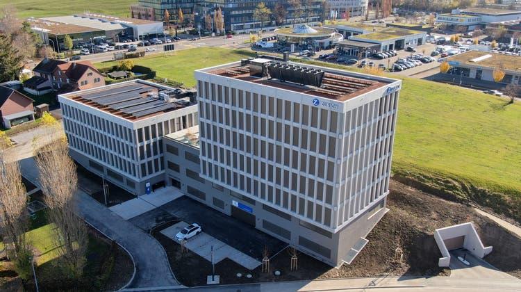 In den modernen Gebäuden am neuen Standort sind die Generalagentur Alois Moser und der lokale Help Point untergebracht. (Bild: PD)