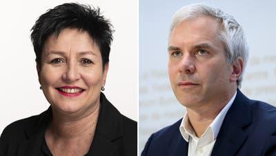 FDP-Nationalrätin Daniela Schneeberger wollte ursprünglich Taskforce-Präsident Martin Ackermann die öffentlichen Auftritte verbieten. Doch jetzt hat sie ihren Antrag massiv abgeändert: Die Taskforce soll so kommunizieren, wie es das Rahmenmandat vorgibt. (Keystone)