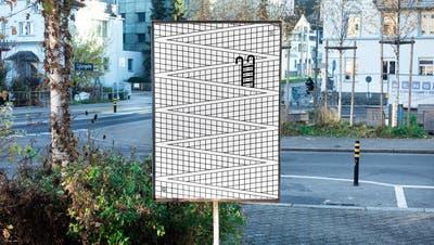 Aus einem Homeoffice-Zeitvertreib wird eine regelrechte Plakatkampagne. (Gestalter: Sam Steiner) (Bild: Netzwerk Neubad)