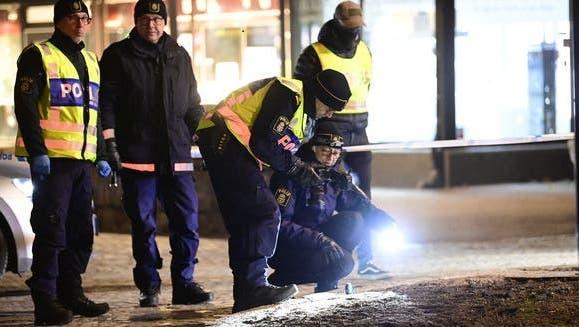 Die Polizei ging zunächst von einer terroristischen Tat aus. (Foto: Keystone)